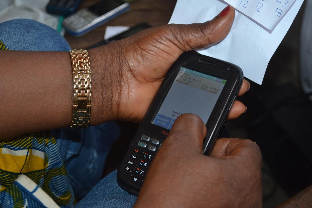 Lonaci terminaux de vente mobiles